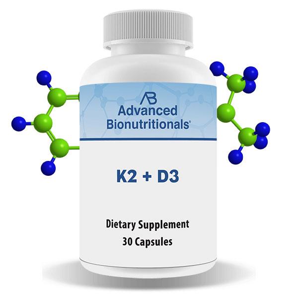 Vitamin K2 + Vitamin D3