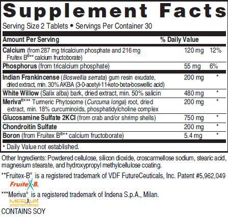 Mediterranean Cholesterol Formula Ingredients